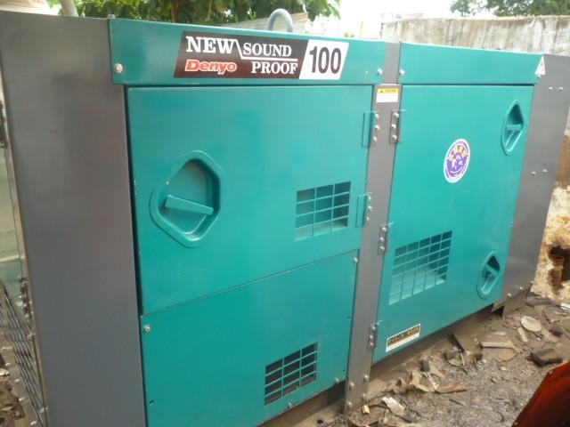Cho thuê máy phát điện 100 kva