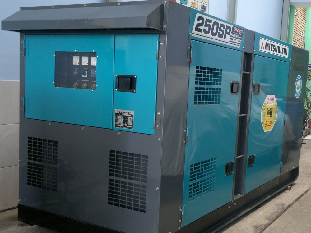 Bán máy phát điện cũ 250kva