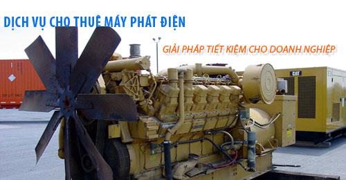 Bán máy phát điện cũ giá rẻ tại TPHCM