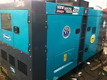 cho thuê máy phát điện 200kva tại TPHCM