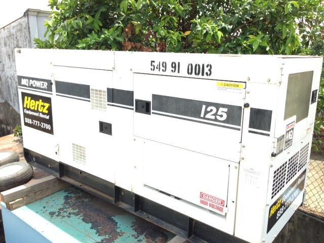 máy phát điện 125kva