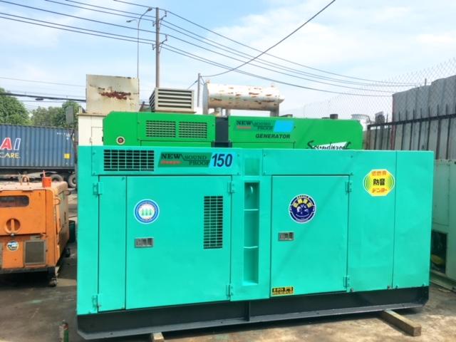 Máy phát điện công nghiệp 150kva