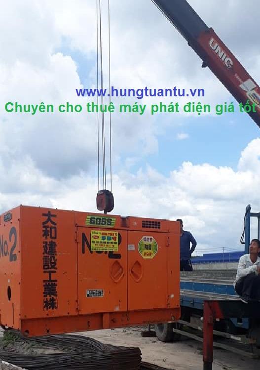 Cho thuê máy phát điện 60kva tại TPHCM.