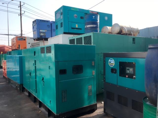 Cho thuê máy phát điện công nghệ cao
