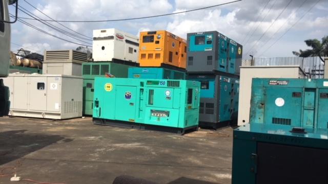 Cho thuê máy phát điện 45kva tại TPHCM.