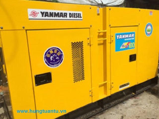 Máy phát điện 100kva nhập khẩu