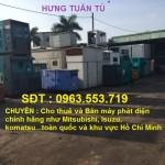 Cho thuê máy phát điện chất lượng giá rẻ