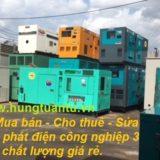 Cho thuê máy phát điện tại Bình Dương
